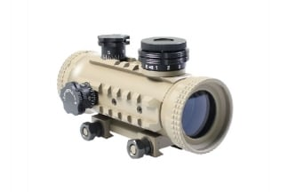 Aim-0 1x30 Tactical Red Dot (Tan)