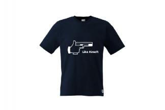 Daft Donkey T-Shirt 'Like Airsoft' (Dark Navy) - Size Extra Extra Large