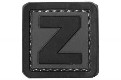 """101 Inc PVC Velcro Patch """"Z"""""""