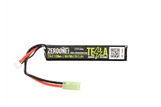 Zero One Tesla Battery 7.4v 1100mAh 15C LiPo