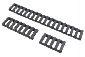 101 Inc Ladder Panel Set for 20mm Rail (Black)