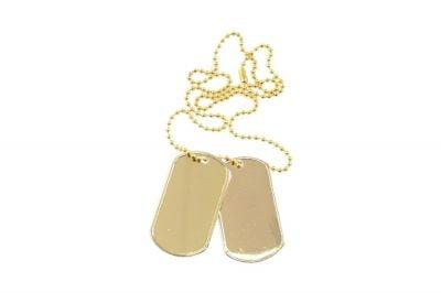 Viper Dog Tags (Gold)