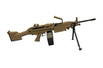 A&K AEG M249 MK2 Dark Earth