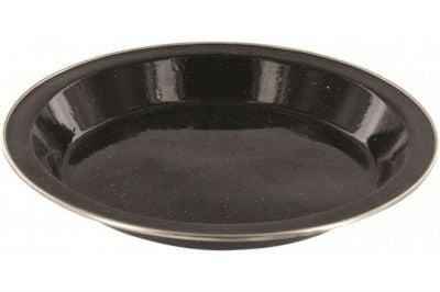 Highlander Deluxe Enamel Plate (Black)