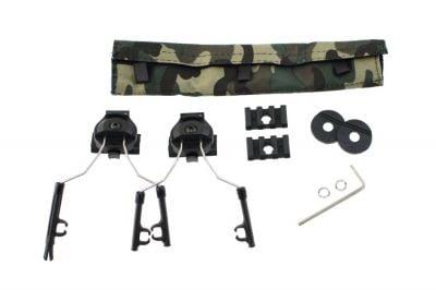 Z-Tactical Helmet Rail Adapter Set (Black)