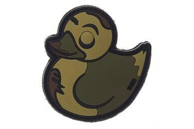 """101 Inc PVC Velcro Patch """"Zombie Duck"""""""