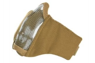 101 Inc Padded 'Skull Mesh Mask (Tan)