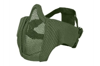 Viper Gen2 Cross Steel Mesh Mask (Olive)