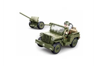 Sluban Allied Jeep Set (M38-B0853)