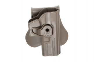 ASG Rigid Polymer Holster for Glock (Dark Earth)