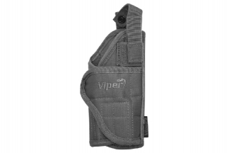Viper MOLLE Adjustable Holster Titanium (Grey)