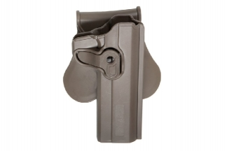 ASG Rigid Polymer Holster for 1911 (Dark Earth)