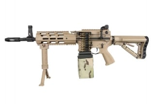G&G Combat Machine AEG CM16 LMG with ETU (DST)