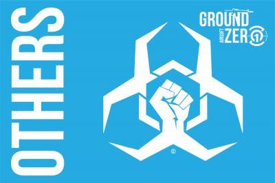 Ground Zero Flag 'The Others' - 100cm x 150cm | £20.00