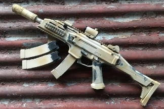 Zero One Custom AEG Deathstalker Scorpion with Rifle Bag