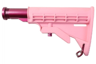 G&G M4 Retractable Stock (Pink)