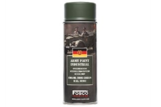 Fosco Army Spray Paint 400ml (DDR Green)