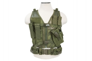 NCS VISM Kids Tactical Vest (Olive)