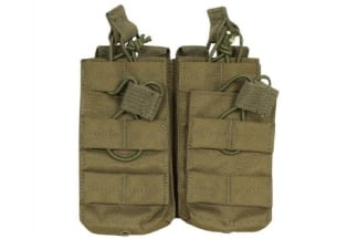 Viper MOLLE Quick Release Stacked Double Mag Pouch (Olive)