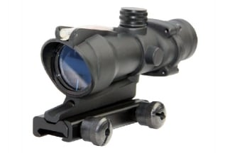 G&G TA31 Scope 4x ACOG Style with Red Fibre Optic Illuminated Reticule (Black)