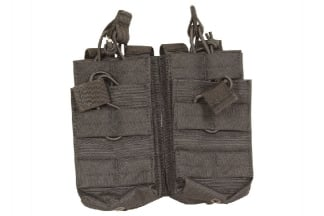 Viper MOLLE Quick Release Stacked Double Mag Pouch (Black)