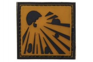 "101 Inc PVC Velcro Patch ""Explosive"""