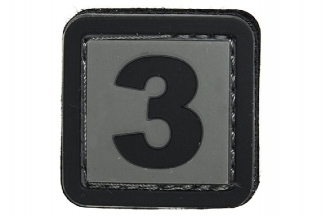 "101 Inc PVC Velcro Patch ""3"""
