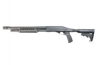 APS CO2 CAM870 MKIII-T Tactical Shotgun (Black)