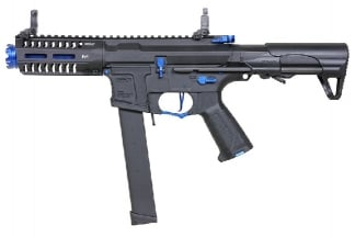 G&G Combat Machine AEG ARP 9 Super Ranger Sky with ETU (Black/Blue)