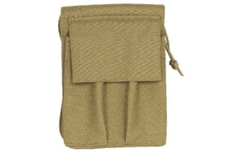 Viper MOLLE A6 Notebook Holder with Waterproof Notebook (Coyote Tan)