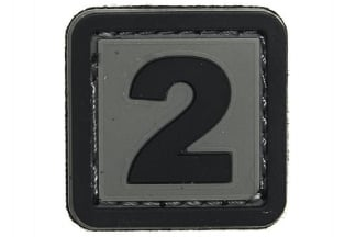 "101 Inc PVC Velcro Patch ""2"""