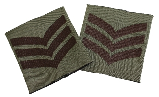 Combat Patch Pair - Sgt (Subdued)