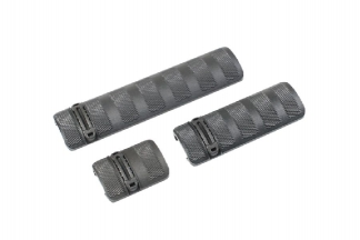101 Inc Battle Rail Cover Set (Black)