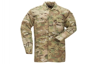 5.11 TDU Shirt (MultiCam) - Size Extra Large