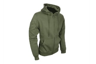Viper Tactical Zipped Hoodie (Olive) - Size Small