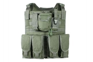 TMC MBSS Plate Carrier (Olive)