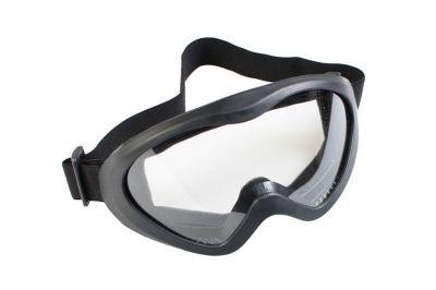 Matrix Tactical Goggles - Clear (Black)