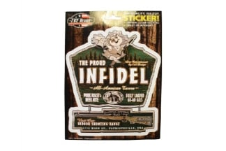 7.62 Design Sticker 'The Proud Infidel'