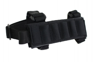 101 Inc Buttstock Shotgun Shell Holder (Black)