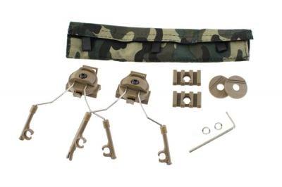 Z-Tactical Helmet Rail Adapter Set (Tan)