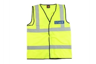 Zero One VizMax Pro Reflective Staff Vest - Size Medium