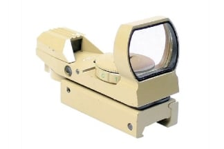 Zero One 4 Reticle Reflex Sight (Tan)