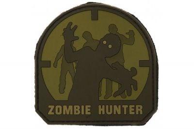 "101 Inc PVC Velcro Patch ""Zombie Hunter"""