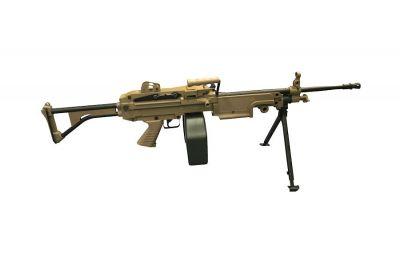 A&K AEG M249 MK1 Dark Earth