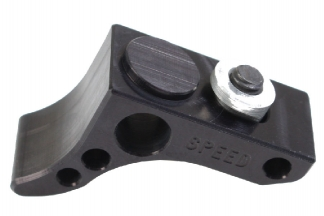 Speed Airsoft Curved Front Stop for KeyMod (Black)