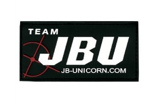 JBU Velcro PVC Patch (Black)
