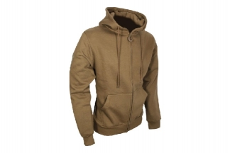 Viper Tactical Zipped Hoodie (Coyote Tan) - Size Medium