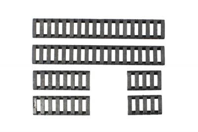 FMA Ladder Panel Set for 20mm Rail (Black)