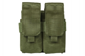 NCS VISM MOLLE Stacked Double Mag Pouch for M4 (Olive)