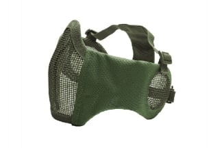 ASG Padded Mesh Mask with Ear Protection (Olive)